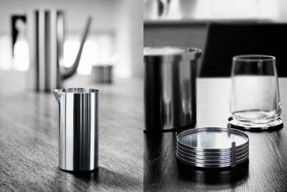 Stelton Arne Jacobsen kaffesett 9 deler
