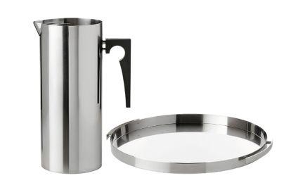 Stelton Arne Jacobsen kanne & serveringsfat