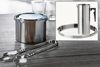Stelton Arne Jacobsen serveringsett 4 deler