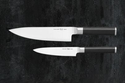 Fiskars Sensei Kjøkkenkniv 19cm+urtekniv 12cm