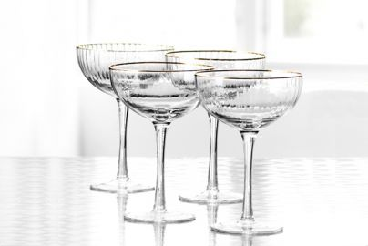 Lyngby Palermo gold cocktailglass