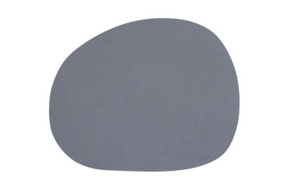 Aida Raw bordbrikke resirkulert skinn grå 4 stk