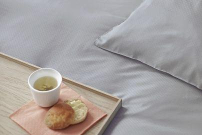 Skagen bambus sengetøy grå 140x200/220 cm, 2 sett