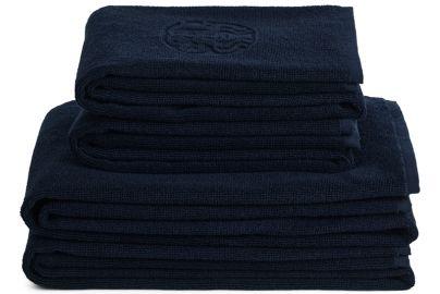 GJD håndklær kongeblå 2 + 2 stk. 70x140 cm, 40x70 cm