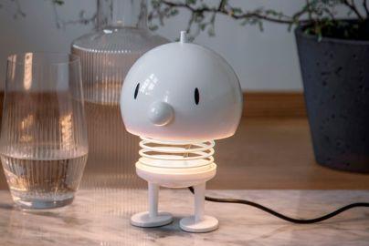 Hoptimist lampe hvit H13,5