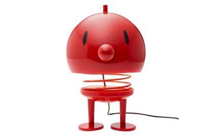 Hoptimist lampe rød H23 cm