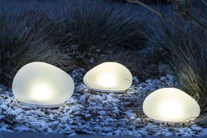 Stonelights hagelamper med solceller 3 stk.