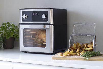 Kitchen Master airfryer ovn sort 12L