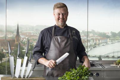 Jesper Koch knivsett 5 stk resirkulert stål