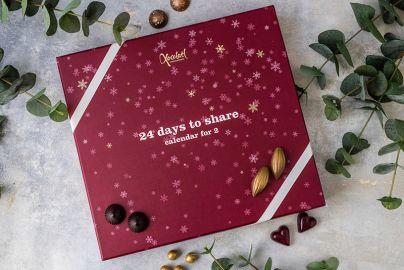 Xocolatl luksus julekalender for 2- 400 g