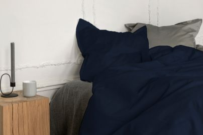 Georg Jensen Damask PLAIN sengetøy kongeblå 140x200 2 sett