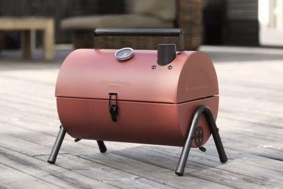 Grillin & Chillin BBQ smoker grill rød