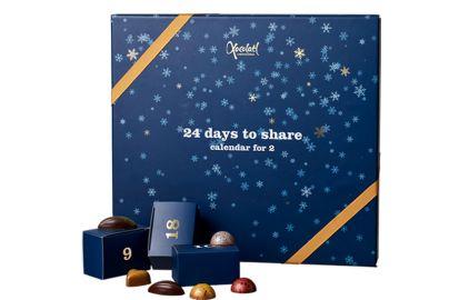 Xocolatl julekalender luksus 400g