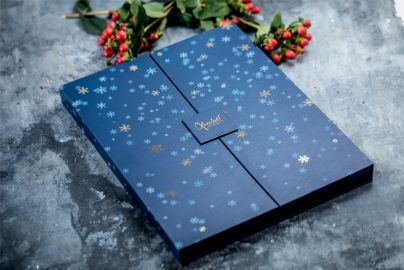 Xocolatl julekalender blå 220g