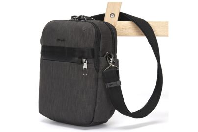 Pacsafe Metrosafe X vertical crossbody grey