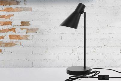 Dyberg Larsen DL12 bordlampe sort