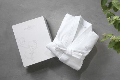 Ambience du Nord badekåpe hvit