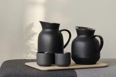 Stelton Amphora termokannesett sort