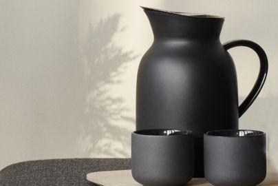 Amphora termokanne, kaffe 1 L., sort