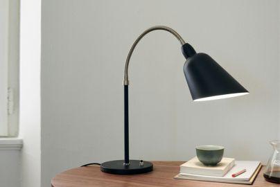 Arne Jacobsen Bellevue AJ8 bordlampe sort