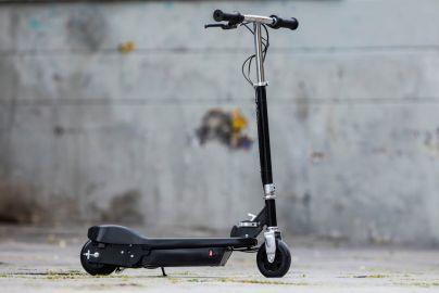 Elektrisk sparkesykkel sort