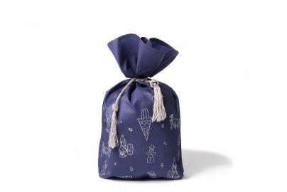 Gavesekk, blå str. 35x45 cm