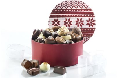 Hatteeske Jul2020 luksus sjokolade 1000g