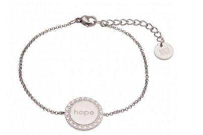 "Armbånd ""hope"" i stål"