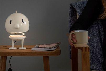 Hoptimist lampe hvit H23