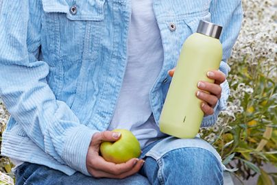 Stelton Keep Cool termoflaske 0,6 l. - soft yellow