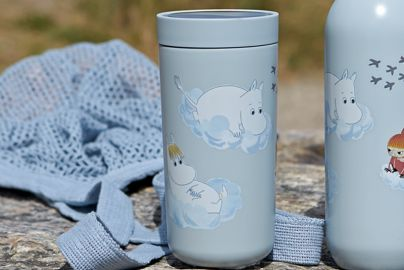 Stelton To Go Click 0,4 soft cloud Moomin