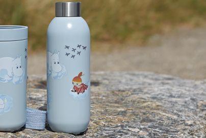 Stelton Keep drikkeflaske 0,75 cloud Moomin