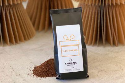 """Sjokoladeverkstedet Kaffe """"Hjertevarmer"""""""