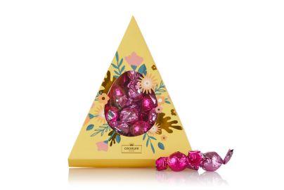 Cocoture trekanteske med rosa sjokoladekuler 204g