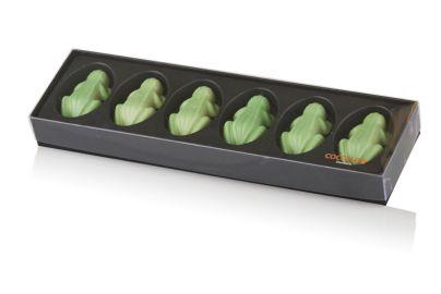 Grønne sjokoladefrosker 120g