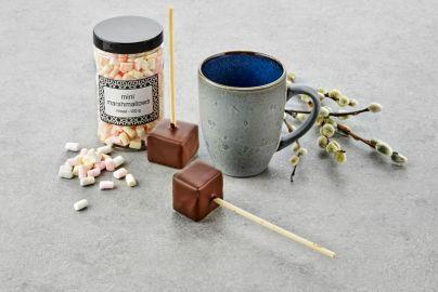 Bitz krus med kakao og marshmallows