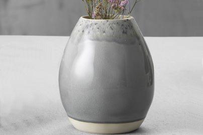 Costa Nova Madeira vase grå Ø17,5cm H20cm.