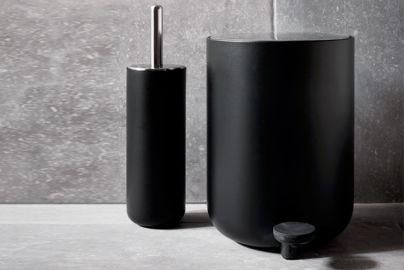 Menu pedalspann og toalettbørste sort
