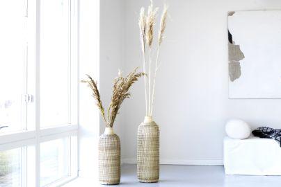 Bali bambus vaser 2 stk., 50 og 60 cm