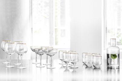 Lyngby Palermo glasspakke 17 deler