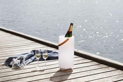 Arendal vinkjøler med lys og lyd