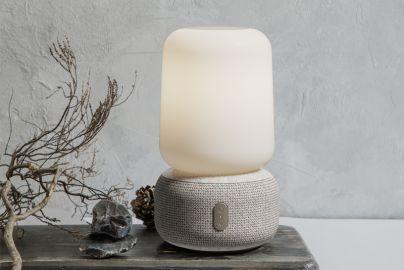 Kreafunk aLOOMI høyttaler med LED og candle light