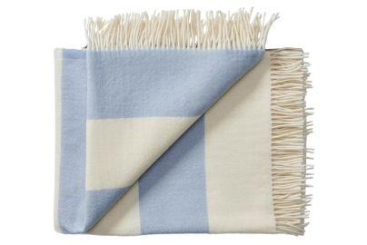 Silkeborg Ull Stilleben pledd blå